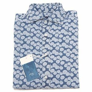 Motivo Camicie Men Foglie Camicia 2379p Uomo Altea Shirt wEXCCqd