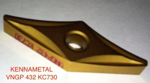 KENNAMETAL VNGP432 KC730 Carbide Inserts Box of 5 new inserts