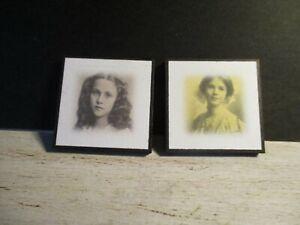 2 Maison De Poupées Miniature Victorian Photographies Saw7-afficher Le Titre D'origine