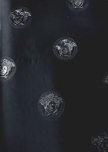 Image Is Loading Versace Home Medusa Black Metallic Designer Luxury Head