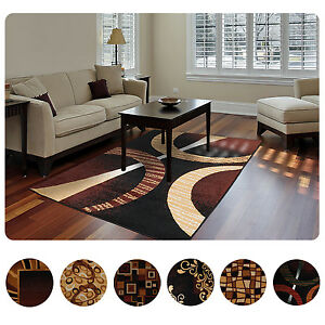 Image Is Loading Modern Contemporary Geometric Area Rug Runner Accent Mat