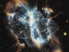 ART PRINT POSTER SPACE STARS NEBULA GALAXY CLOUD GAS UNIVERSE HUBBLE NOFL0418