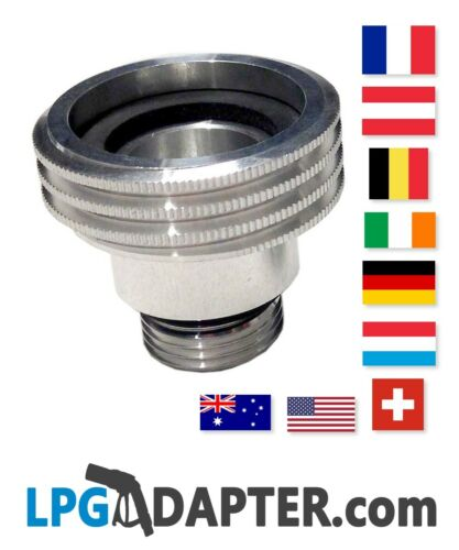 all countries Europe LPG  Travel Adapter Kit UK to rest of Europe