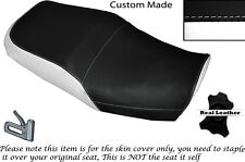 BLACK & WHITE CUSTOM FITS KAWASAKI ZRX 1200 R 01-05 & 1100 R 97-05 SEAT COVER