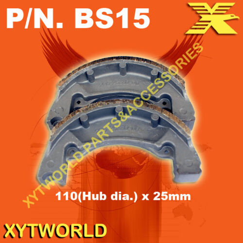 Rear Brake Shoes for Yamaha TY250 TY 250 S//R 1984-1990