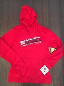 sale retailer b3771 6f285 Details about Washington Nationals NEW Youth Large Hooded Logo Sweatshirt .  MLB Baseball NWT