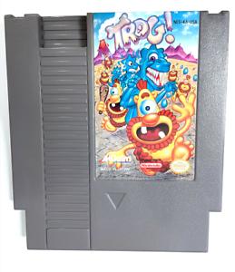 RARE! Trog ORIGINAL NINTENDO NES GAME CARTRIDGE Tested ++ WORKING ++ AUTHENTIC!