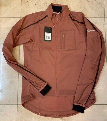 Rapha Brevet Visibility Wind Jacket In High Vis Pink Medium Brand New With Tag