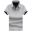 Cotton-Men-039-s-Fashion-Slim-Short-Sleeve-Shirts-T-shirt-Casual-Tops-Blouse-Top thumbnail 11
