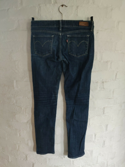 Jeans, Levi's, str. 26,  Mørkeblå,  Denim,  God men brugt,…