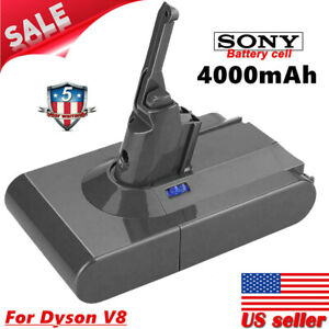 New-4000mAh-Battery-SV10-For-Dyson-V8-Absolute-Animal-Vacuum-Cleaner-Sony-Cell