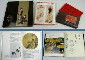 Details About 3 Bücher Das Drachenauge Die Frau Im Alten Japan 100 Gedichte Sammlung