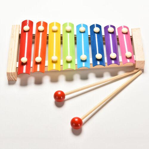 Baby scherzt pädagogisches 8 Ton Xylophon-musikalisches Spielzeug-hölzerneWQ c,s
