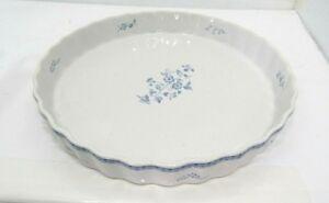 Quiche-Pie-Tart-Dish-Stoneware-Baking-Dish-Fyrklovern-Firkloveren-Poland-9-034