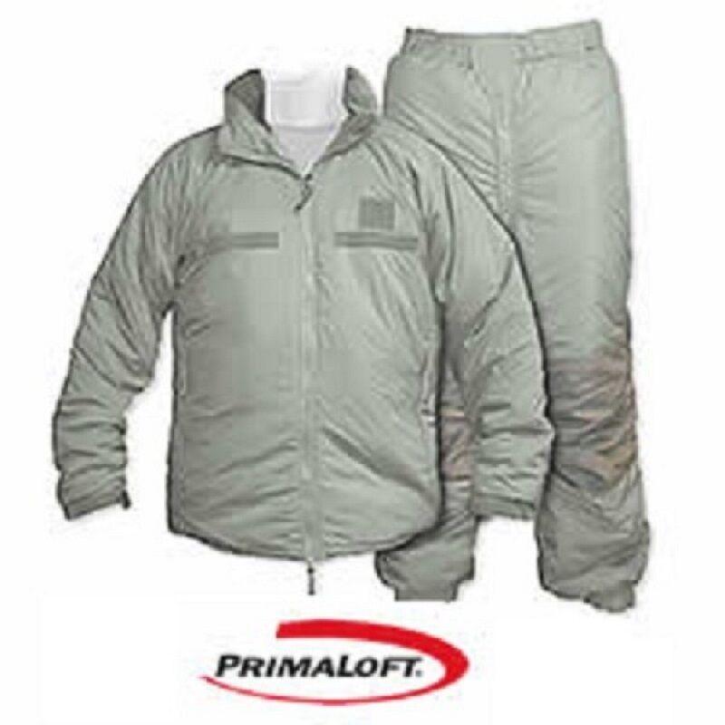Us Army Gen III Ecwcs level VII Al aire  libre invierno primaloft pantalones chaqueta Medium Largo  nuevo sádico