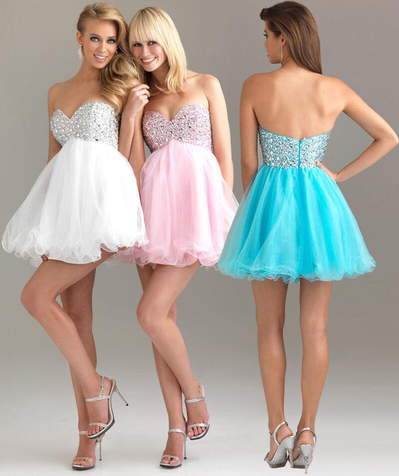 Cocktailkleid Abendkleid Ballkleid Partykleid Kleid Brautkleid Hochzeit C1504W