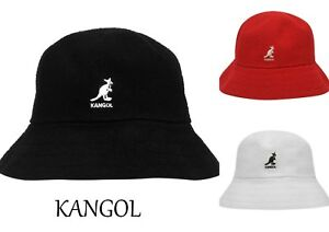 116e64a73ee23 new 2018-2019 Kangol Boucle Casual Bucket Hat -BNWT cap BLACK ...