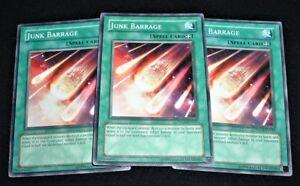 Yugioh Junk Barrage TDGS-EN047 NM//MINT 3X Common Unlimited