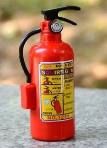 Fire extinguisher squirt gun