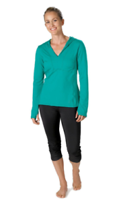 vigne vert XS M L Stonewear Femmes V-cou à manches longues Pullover Sweat à capuche