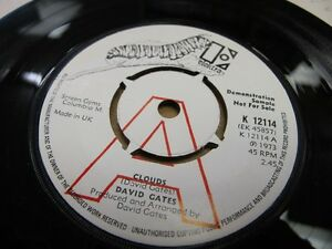 ELEKTRA-DEMO-K12114-UK-1973-45rpm-7-034-DAVID-GATES-034-CLOUDS-034-N-MINT
