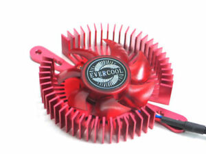 EverCool-VC-RI-R-Mini-UFO-Universal-VGA-Cooler-Red