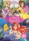 Disney Princess Time to Sparkle: Jumbo Coloring Book Plus Stickers by Parragon Books Ltd (Paperback / softback, 2016)
