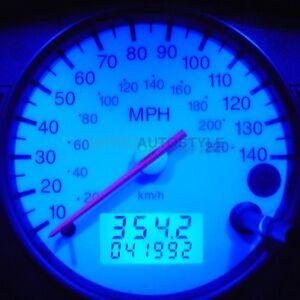 Image Is Loading Ford Fiesta Blue Speedo Dash Led Kit Interior