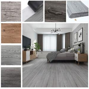 Details zu 36tlg. Dielen Holzdielen 5,02 m² PVC Selbstklebende Küche  Wohnzimmer Bodenbelag