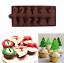 Weihnachten-Silikon-Muffin-Pan-Schokolade-Kuchen-Backformen-Backblech-Formen