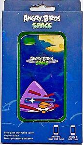 Gear4 Apple iPhone 4/4S ANGRY BIRDS SPACE LAZER BIRD RIGID CLIP CASE ICAS402G
