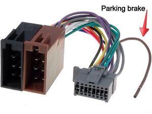 s l300 panasonic car radio stereo 16 pin grey socket type wiring harness panasonic car stereo wiring harness at panicattacktreatment.co