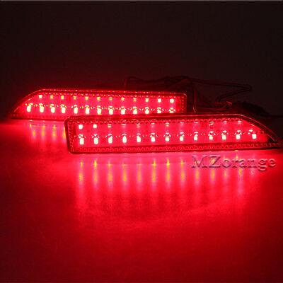 2xRear Bumper Right+Left Lamp Reflector Light Cover For Honda CRV CR-V 2007-2009