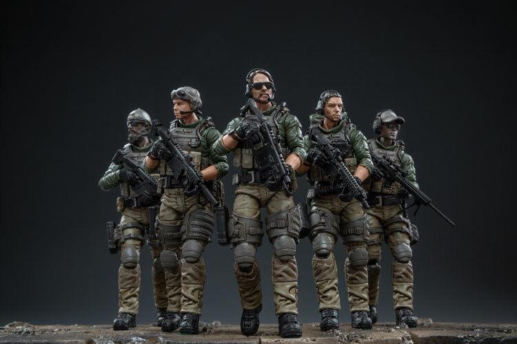 JOYTOY jtus 003 1 18 escala US Marine Corps soldado de Acción Juguetes Conjunto de 5 Figuras De Regalo