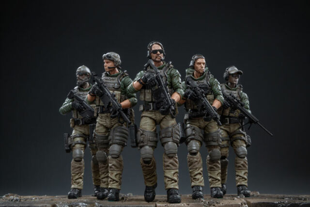 JOYTOY  1//18  PLA Field Forces Action Figure 81911052 New 5 Pieces Set