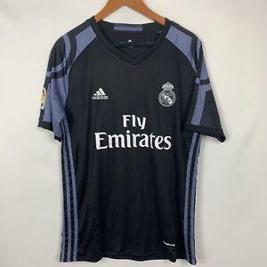 BNWT-Real-Madrid-2016-2017-AdIdas-Third-Football-Soccer-Shirt-Jersey-Medium