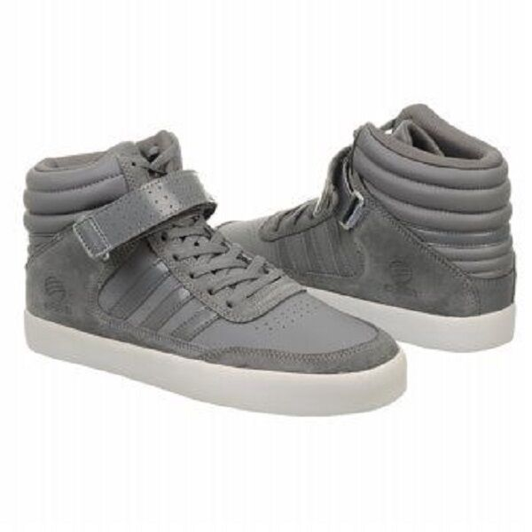 Men Adidas BBNeo Upshur Sneaker U44844 Grey White 100% Authentic Brand New Wild casual shoes