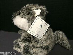 Pottery Barn Kids Fur Stuffed Animal Plush Small Wolf Toddler