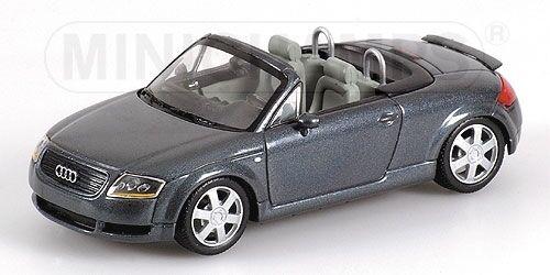 Audi Tt Roadster 2000 blu Metallic 1:43 Model MINICHAMPS