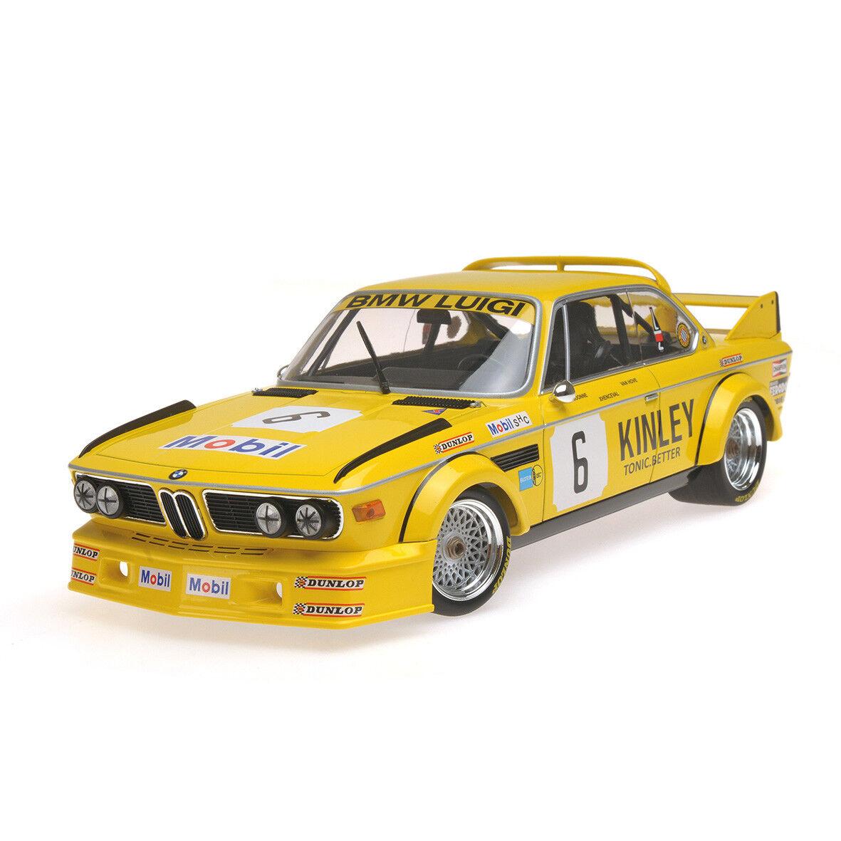 BMW 3.0 CSL  6 LUIGI WINNER CAR 1979 1/18 DIECAST MODEL BY MINICHAMPS 155792506