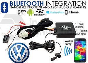 VW Polo Bluetooth Adapter Musik-streamin<wbr/>g Freisprecheinr<wbr/>ichtung Aufrufe ab 2004