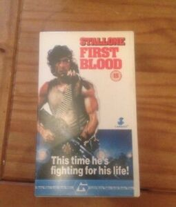 VHS-Video-First-Blood-Rambo-Part-1