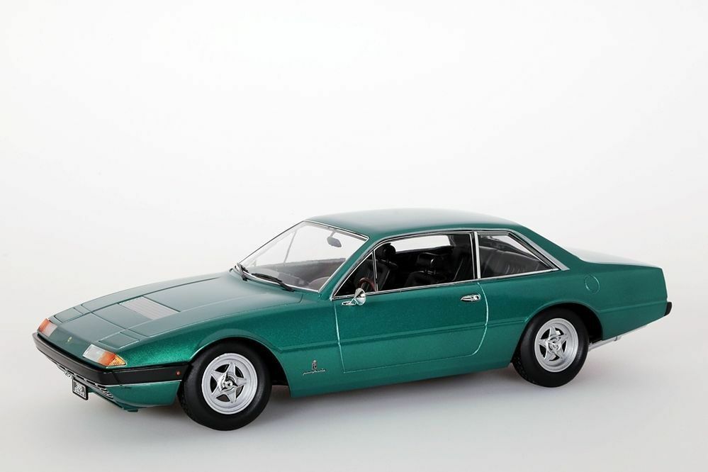 Ferrari 365 gt4 2+2, 1972 Vert Metallic KK-Scale 1 18 Nouveau Neuf dans sa boîte