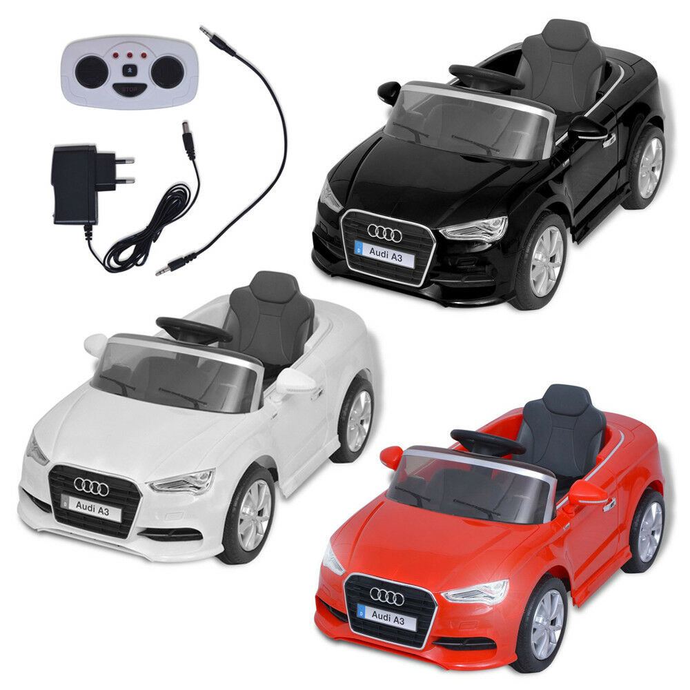 Elektroauto Kinderauto Audi A3 Elektrofahrzeug Kinderfahrzeug mit Fernbedienung