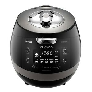 CUCKOO CRP-P0660FD IH Pressure Rice Cooker 6Cups Auto Steam Cleaning 220V