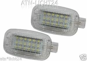 2x led smd car spiegel beleuchtung mercedes benz w164 w169 c197 w204 s212 w212 ebay. Black Bedroom Furniture Sets. Home Design Ideas