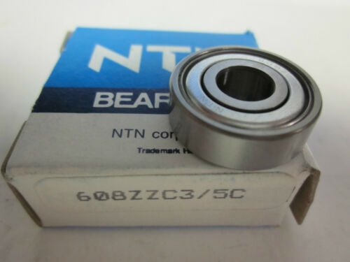 * NEW  NTN  BEARINGS 608ZZC3 XX-16 5C   .........................