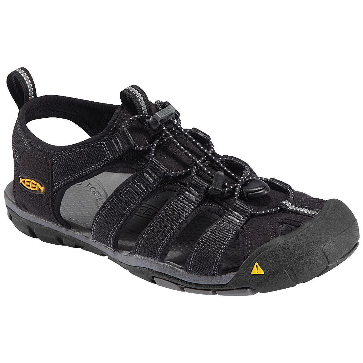 Keen Clearwater CNX nero Mens  Comfort Outdoor Sandals  caldo