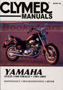 shop manual virago service repair yamaha clymer book haynes chilton rh ebay com 1993 Grand Cherokee Chilton Manuals chilton repair manual motorcycles
