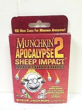 Munchkin Apocalypse 2 Sjg4248 Sheep Impact Guest Artist Edition Expansion Pack